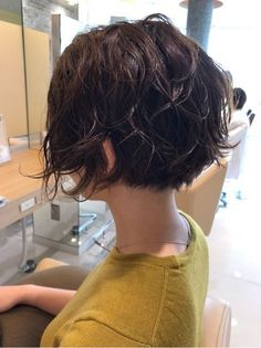 『ヘアスタイル。ショートボブ』 - Lilly is Love Medium Hair Styles, Curly Hair Styles, Short Bob Hairstyles, Natural Hairstyles, 1920s Hairstyles, Tomboy Hairstyles, Hairstyle Short, Hairstyles Pictures, Black Hairstyles