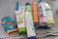 Packing a toddler for vacation