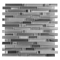 You'll love the Handicraft II Random Sized Glass Mosaic Tile in Gray at Wayfair - Great Deals on all Kitchen & Dining products with Free Shipping on most stuff, even the big stuff.
