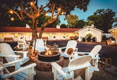 The Stables Inn is the cooler little sister to the more upscale, old-world Cheval Hotel. It is owned and operated by the same team, and is similarly rooted in equestrian culture, but The Stables has a decidedly more millennial, Austin vibe than its English-riding sibling, complete with outdoor fire pits and Western tack room decor.