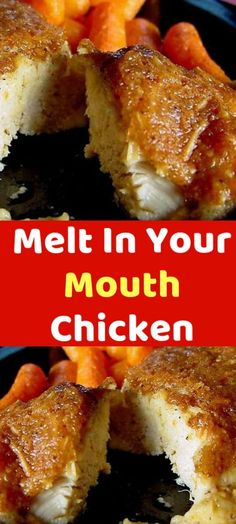 Melt In Your Mouth Chicken Oooooo I am SO excited to share this recipe with you. Because it is a recipe YOU created. Yep, I took all the changes and variations you all Fondue, Low Carb Recipes, Cooking Recipes, Potluck Recipes, Great Recipes, Favorite Recipes, Sandwiches, Boneless Chicken Breast, Chicken Breasts