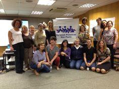 Departamento de Mediação da Na'amat Pioneiras São Paulo realiza capacitação para o Grupo Chaverim.