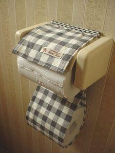 簡単トイレットペーパーホルダーカバーの作り方 マリカイとハンドメイドの日々