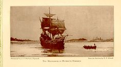 The Mayflower docked in Plymouth Harbor for the first time on December 18, 1620. #pilgrims