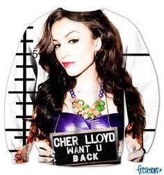 Cher Lloyd / Want U Back Sweatshirt