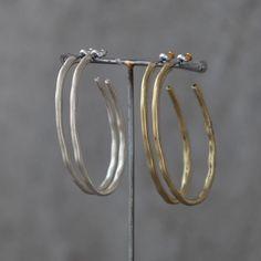 Tutti & Co Jewellery Big Oval Hoop Earrings £12.99 from www.lizzielane.com http://www.lizzielane.com/product/tutti-co-jewellery-big-oval-hoop-earrings/