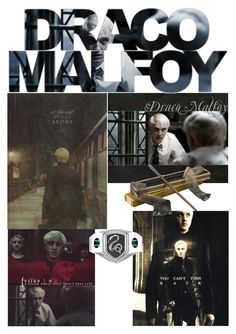 """Draco Malfoy"" by fairytales22 ❤ liked on Polyvore featuring art"