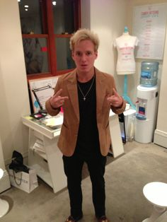 Jamie Laing from made in chelsea wearing one of our blazers!