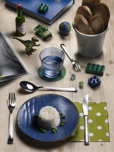 BETA- Our Beta version is definitive #Pintinox #posate #cutlery #everyday #miseenplace #Beta #rice #toys #green #blue