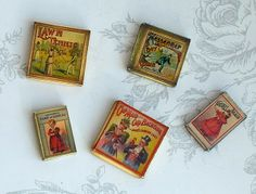 Old-fashioned games scale 1:12