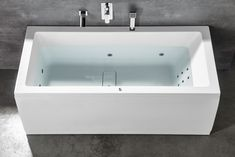 MARLENE HYDRO masážní vana, 170x80x48cm, bílá : SAPHO E-shop Bath Screens, Bathtubs, Bathroom, Shopping, Washroom, Bathtub, Bath Tube, Full Bath, Bath