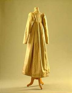 After her wedding to the famous Romantic poet, Lord Byron, in January 1815, Lady Byron wore this pelisse to go away in.