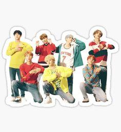 Pop Stickers, Tumblr Stickers, Printable Stickers, Bts Chibi, Bts Book, Kpop Logos, Kpop Diy, Bts Face, Bts Merch