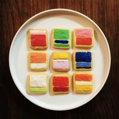 Yes - Rothko cookies!!  Created by Mimi O Chun. Via Aesthetics of Joy.
