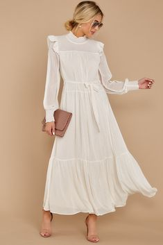 See what's new today at Red Dress. Red Dress has new arrivals on the latest dresses, clothes and shoes for women. Hippie Dresses, Modest Dresses, Casual Dresses, Fashion Dresses, Long White Casual Dress, Midi Dresses, Outfit Vintage, Outfits Inspiration, Estilo Kate Middleton