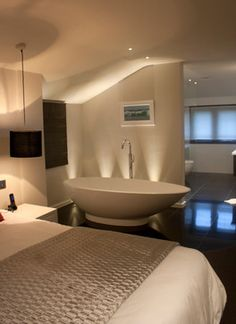 Master Bedroom With Open Bathroom 25 sensuous open bathroom concept for master bedrooms | open