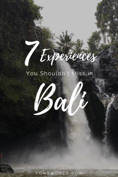 Bali has so much to offer. Here's list of unforgettable experiences that you must pen down on your checklist for a perfect Bali getaway!