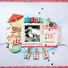 """Layout von Anke Kramer für www.danipeuss.de   @Margaret Martinez Martinez Martinez Bham Paper """"The Pier"""""""