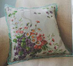 Hankie pillow