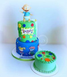 Boys First Birthday Party Ideas, Baby Boy First Birthday, 2nd Birthday Parties, Rugrats, Novelty Birthday Cakes, 1st Birthday Cakes, Baby Shower Themes, Shower Ideas, Twins 1st Birthdays