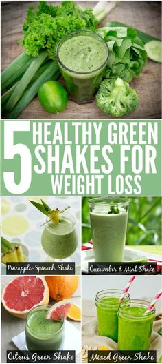 Top 5 Green Shakes For Weight Loss : Green shakes and smoothies taste a lot better than they look. #greenshakes #greensmoothie #weightloss