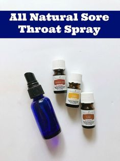 This home remedy sore throat spray will help your throat feel better and may help keep your throat from turning into a full blown super sore throat. All natural remedy recipe made with essential oils. Essential Oils For Colds, Thieves Essential Oil, Essential Oil Spray, Essential Oil Blends, Oils For Sore Throat, Essential Oil Sore Throat, Doterra Sore Throat, Oils For Newborns, Sore Throat Remedies