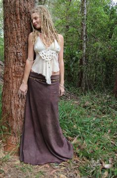 RESERVED Hemp Organic Cotton Goddess Wrap Skirt in by Wyldeskye, $120.00
