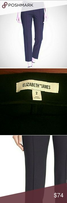 SALE!! SPRING ELIZABETH AND JAMES TROUSERS PANTS PRICE DROP 3/2 Skinny fit slim crop dress pants from luxury brand Elizabeth and James! Retails for 345. No flaws. size 2. I gained weight due to medicine... reposh! Beautiful for work, interviews, suit blazers, luxury basic for wardrobe. Sold out online. I tagged sizes that i think are the same as a 2.  **I love sending big private offers if you bundle just TWO items or more from my closet!   SELECT SIZE 2 AT CHECKOUT ONLY ONE ITEM FOR SALE :)…