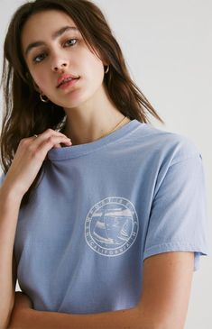 John Galt has your casual style covered with the Marine Newport Beach T-Shirt. This tee features a crew neck, short sleeves, and a Newport Beach graphic. Aesthetic T Shirts, Aesthetic Clothes, Beach T Shirts, Newport Beach, Cute Outfits, Pacsun, Crew Neck, Short Sleeves, Summer Clothes