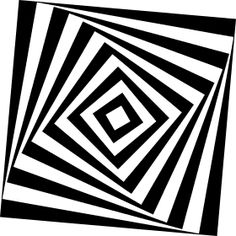 drehendes Rechteck - Ein drehendes Rechteck dreht sich bin in die Unendlichkeit.