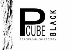 PCUBE BEACHWEARE COLLECTION - Sfogliami.it Black Beachwear, Black Denim, Company Logo, Logos, Leather, Collection, Jacket, Logo, Jackets