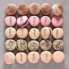 Personalized Message Macarons | Edible Writing | Ways to Serve Macarons | Display Macarons | Cute Ideas to Present Macarons | Afternoon Tea | High Tea | Birthday Parties | Dessert Buffet | Party Favors | Weddings | Macaron Towers | French Macarons | Dessert Table | Repinned by @purplevelvetpro | www.purplevelvetproject.com
