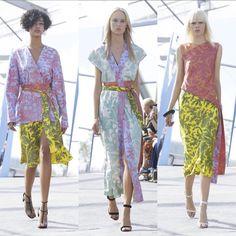Belinda Casey Fashion — Kimono Style @saundersstudio #jonathansaunders...