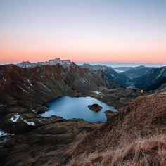Pre sunrise hike to Lake Schrecksee in Germany! by daniel_ernst