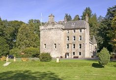 Culcreuch Castle, Scotland. Once belonged to Clan Galbraith.   Culcreuch Castle was built in 1296 by Maurice Galbraith. It was the clan seat of Clan Galbraith from 1320 to 1624, when it was sold to a cousin, Alexander Seton of Gargunnock, to settle a financial debt.