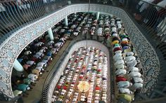 Muslim devotees attend the last Friday prayer in the holy month of Ramadan at the National Mosque in Dhaka, Bangladesh Picture: EPA/ABIR ABDULLAH Pillars Of Islam, Love In Islam, Eid Al Fitr, Islamic Prayer, Alhamdulillah, Mosque, Ramadan, Quran, Muslim