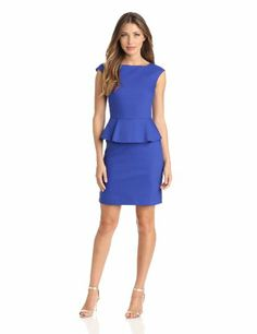 French Connection Women's Superstretch Peplum Dress, Blue, 0 French Connection,http://www.amazon.com/dp/B00CDH2LXM/ref=cm_sw_r_pi_dp_gbR2rb12CR8GQM8P