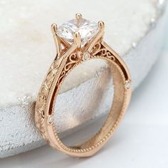 How Joseph Jewelry Is Changing Custom Jewelry Design Circle Engagement Rings, Alternative Engagement Rings, Rose Gold Engagement Ring, Solitaire Engagement, Vintage Engagement Rings, Vintage Rings, Vintage Diamond, Thing 1, Custom Jewelry Design