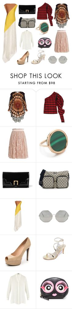 """Please Find This..."" by cate-jennifer ❤ liked on Polyvore featuring Givenchy, A.W.A.K.E., Alexander McQueen, Ginette NY, Halston Heritage, Jonathan Saunders, Cutler and Gross, Stuart Weitzman, Etro and Kate Spade"