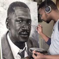 Conversation continues with Robert Sobukwe Commissioned collection. African History, African Art, Freedom Fighters, Fictional Characters, Conversation, Studios, Artists, Future, Gift