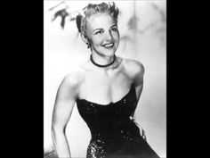 Peggy Lee--It's a Good Day.  A good morning song. It makes ya smile and tap your toe even if the sun isn't shining!