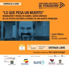 """""""Reinventar el hielo fue un golpe de genio, la noticia que solo podía dar el mayor reportero de la imaginación latinoamericana"""", Juan Villoro recorre las fronteras de la ficción y la realidad en la obra de Gabriel García Márquez. #PremioGGM: http://www.fnpi.org/premioggm/"""
