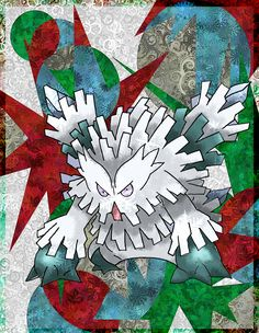 Mega Abomasnow by Macuarrorro.deviantart.com on @DeviantArt. #Pokemon #MegaAbomasnow #fanart