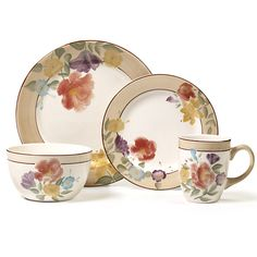 Pfaltzgraff 16-Piece Dinnerware Sets
