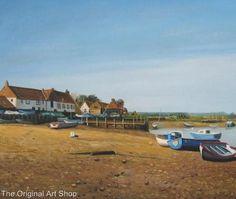 Oil Painting NORFOLK COAST BURNHAM OVERY Quay Boats Sailing BRITISH ORIGINAL ART   eBay Norfolk Coast, Burnham, Boats, Sailing, Original Art, British, Oil, The Originals, Ebay