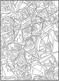 Mosaic design 1 from Dover Publications http://www.doverpublications.com/zb/samples/497488/sample3a.htm