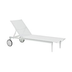 Royal Botania LTL195 sun lounger designed by Frank Boschman. Retro modern design sun lounger in premium quality materials, optionally available with luxury outdoor cushion.
