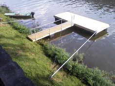 Dock With 21' Standard Stiff Arms
