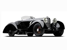 1930 Mercedes Benz SSK Count Trossi roadster. Beautiful fender flares.