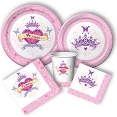 Her Highness Party Supplies: Princess Birthday Invitations, Party Favors, and Decorations